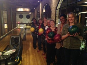 DALL and SLA-TX members Bowling Mixer November 2014